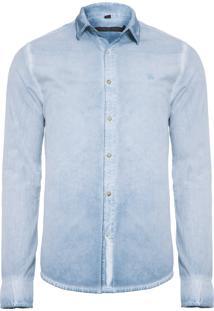 Camisa Masculina Jason Sky - Azul