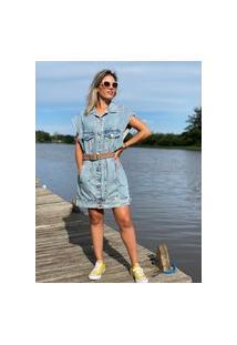 Vestido/Colete Animale Jeans