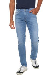 Calça Jeans Sergio K Reta Estonada Azul
