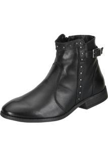 Bota Dududias10 Ankle Boot Melt Preta