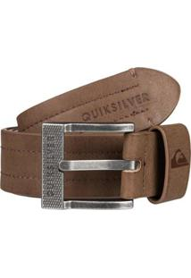 Cinto Quiksilver Stitchy - Masculino-Marrom