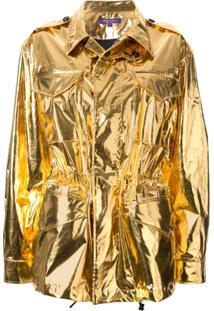 Ralph Lauren Collection Jaqueta Estruturada - Dourado