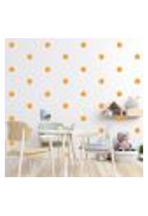 Adesivo Decorativo De Parede - Kit Com 60 Flores - 013Kad02