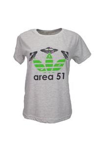 T-Shirt Area 51 Cinza