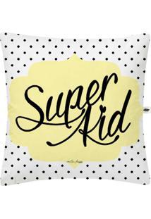 Capa De Almofada Nita Faco Super Kid Branco