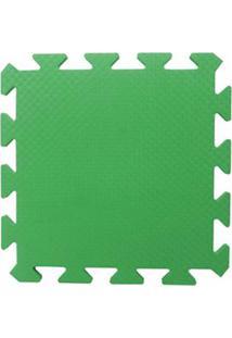 Tapete Tatame Eva Loja Da Maria 50X50X1Cm 10Mm Verde Bandeira