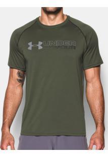 Camiseta Under Armour Tech Wordmark