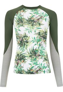 Track & Field Camiseta Surf 'Frutos' - Green