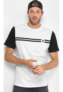 Camiseta Hurley Block Party Masculina - Masculino
