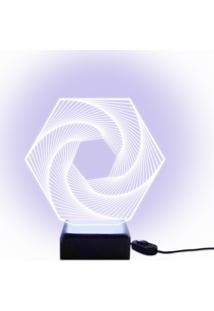 Luminária Acrilize Prisma Incolor