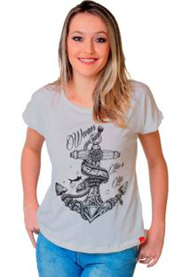 Camiseta Wevans Ancora Tattoo Branco