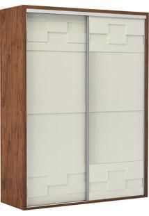 Guarda Roupa Tw301 2 Portas Nobre Fosco/Off White