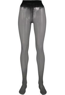 Wolford Meia-Calça Individual 5 - Preto