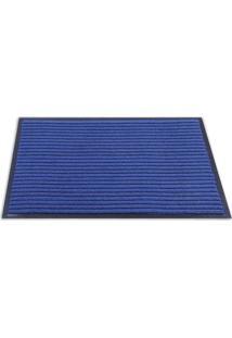 Tapete Texturizado- Azul Escuro & Preto- 60X40Cmsultan