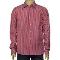 Camisa Masc Individual 302.25775.001 Listrado Vermelho Branco feffac02cd9a7