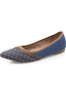 Sapatos Femininos Corello Sapatilha Caramelo