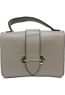 Bolsa Casual Sys Fashion 8536 Feminina - Feminino-Creme+Branco