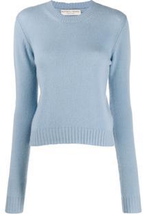 Bottega Veneta Suéter De Tricô - Azul