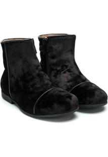 Gallucci Kids Ankle Boot - Preto