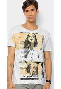 Camiseta Derek Ho Lady Lyric Masculina - Masculino-Amarelo Claro