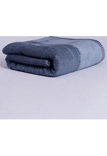 Toalha De Banho Artex Iron Azul Marinho