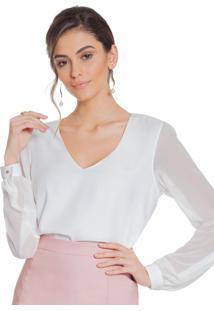 Blusa Principessa Ravena Off White