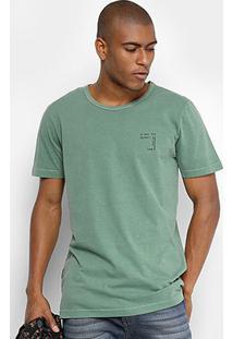 Camiseta Forum Song Masculina - Masculino-Verde Escuro