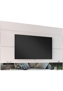 Painel Para Tv Est204 Branco Estilare Mó