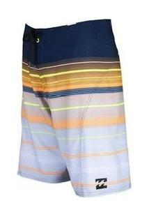 Bermuda Boardshort Platinum Billabong Masculina - Masculino-Azul