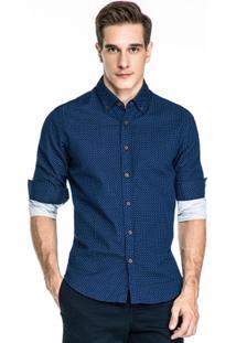 Camisa Base Estampada - Masculino