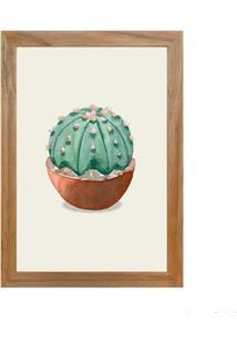 Quadro Decorativo Cactus Ii 23X33Cm Rústico Infinity
