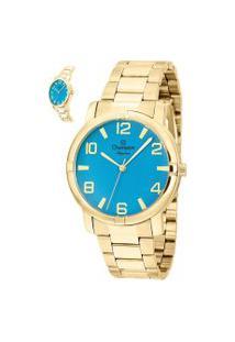 Relógio Analógico Champion Feminino - Cn25181F Dourado