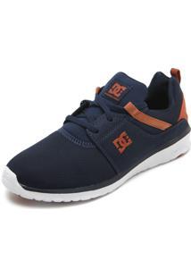 Tênis Dc Shoes Heathrow M Azul-Marinho/Caramelo