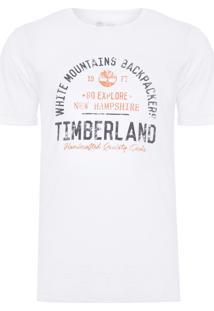 Camiseta Masculina Backpackers - Branco