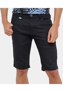 Bermuda Jeans Rock & Soda Color Skinny Masculina - Masculino
