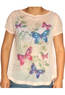 Camiseta Eliti Borboletas