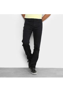 Calça Jeans Slim Ellus Elastic Lavada Masculina - Masculino