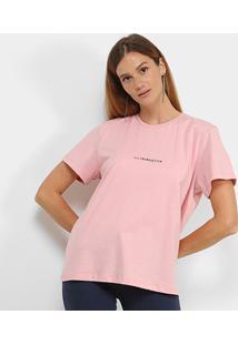 Camiseta Colcci Trendsetter Feminina - Feminino-Rosa Claro