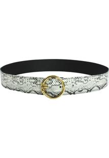 Cinto Higher Snake Circle Belt Sintetico
