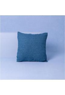 Capa De Almofada Haifa Cor: Azul - Tamanho: Único