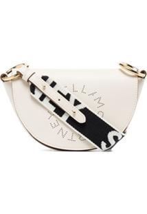 Stella Mccartney Bolsa Stella Mini Com Logo - Branco