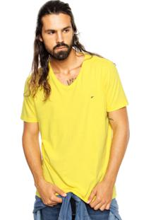 Camiseta Ellus Originals Fine Classic Amarela