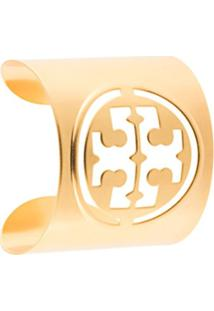 Tory Burch Bracelete Miller Pequeno - Dourado
