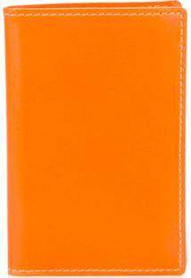Comme Des Garçons Wallet Carteira Modelo 'New Super Fluo' - Amarelo