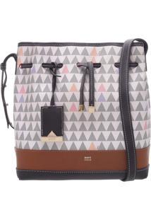 Bucket Bag Emili Triangle Pearl   Schutz