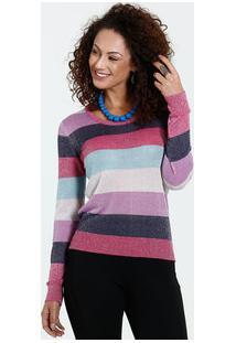 Suéter Bege Manga Longa feminino  5cc2bb9680603