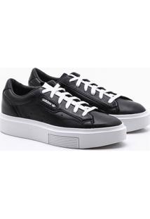 Tênis Adidas Sleek Super Originals Preto Feminino