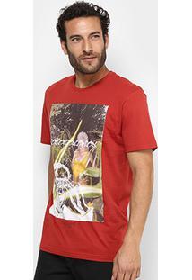 Camiseta Globe Basica Jungle Girl Masculina - Masculino