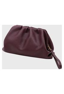Bolsa Carteira Couro Mariart Mini Mari Purple