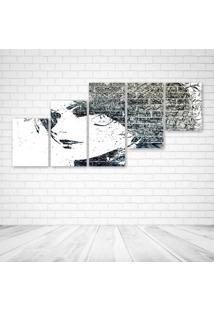 Quadro Decorativo - Girls Urban Art - Composto De 5 Quadros